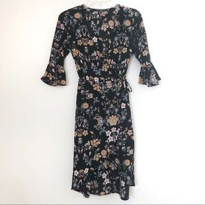 Floral Wrap Dress 🌸 One Clothing Brand
